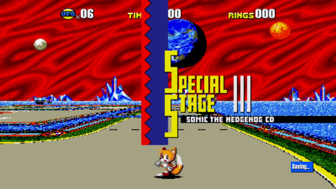 Tails in Special Stage