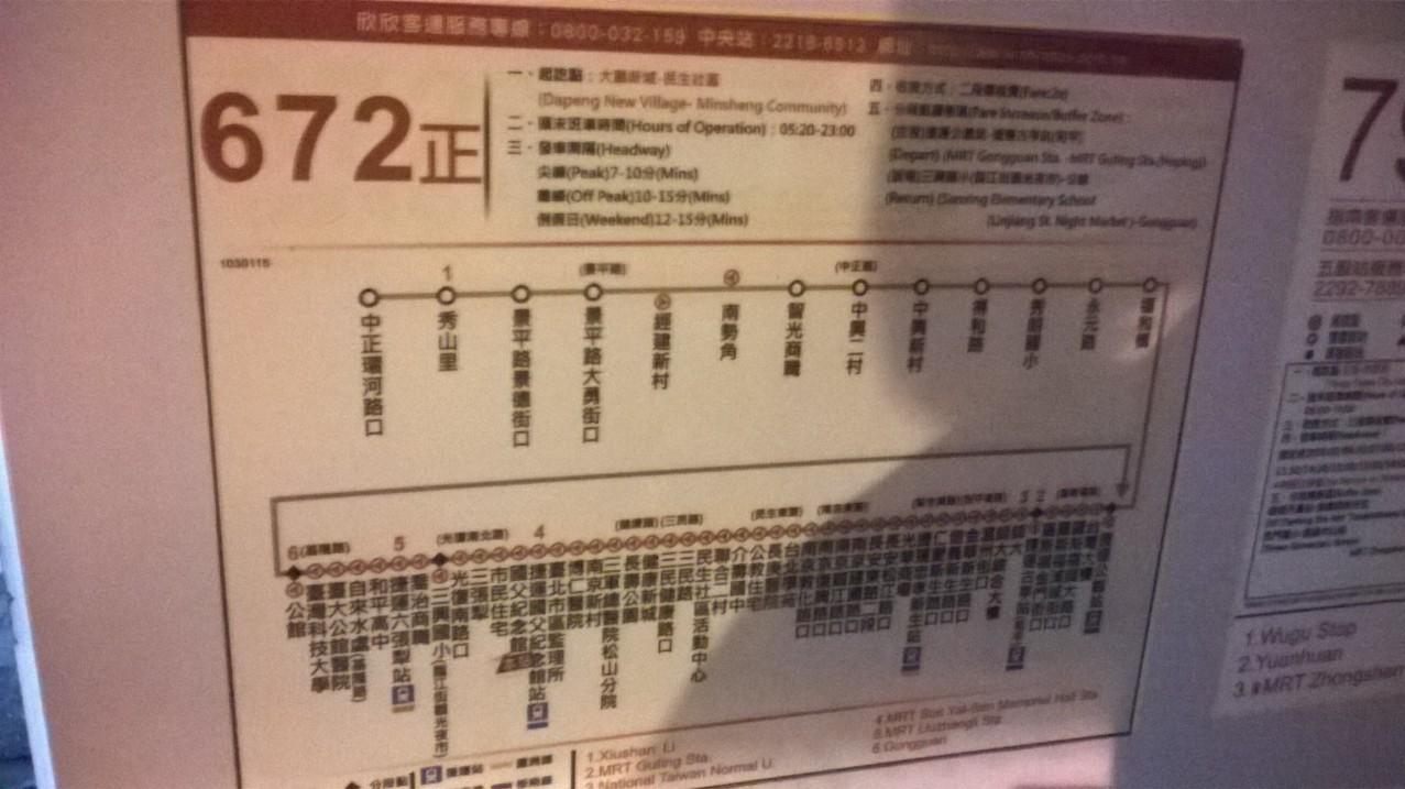 672路線圖